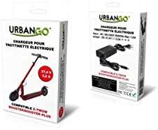 Urbango Cargador para Patinete eléctrico Compatible t-twow Booster Non, Negro, 0