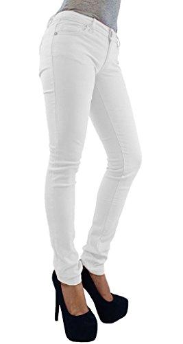 Taille unique Inck Femme noir Jeans Blanc Vanilla wq6vI6