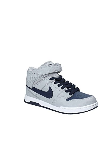 Nike Kids Mogan Mid 2 Jr Skateboarden Wolf Grijs / Midnight Marine Wit