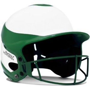 Girls/Women's Softball Helmet, Chin Strap & Blackout Technol