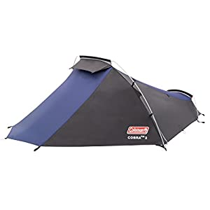 Coleman Cobra 2 Tent for Trekking Tours, Camping or Festivals, Small Pack Size, Fits in a Backpack, Waterproof HH 3.000…