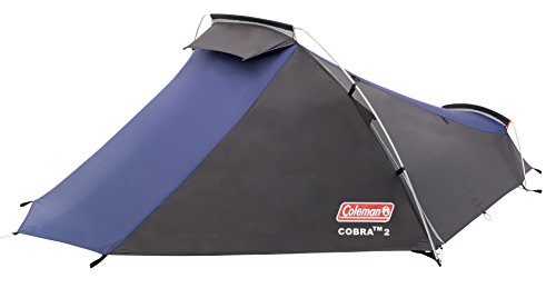 Coleman Lightweight Cobra Unisex Outdoor Backpacking Tent available in Blue...