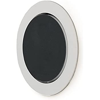 Mount Genie Flush Mount 2nd Gen - Built-in Wall or Ceiling Mount for Round Puck Speakers with Included Wiring (1-pack)