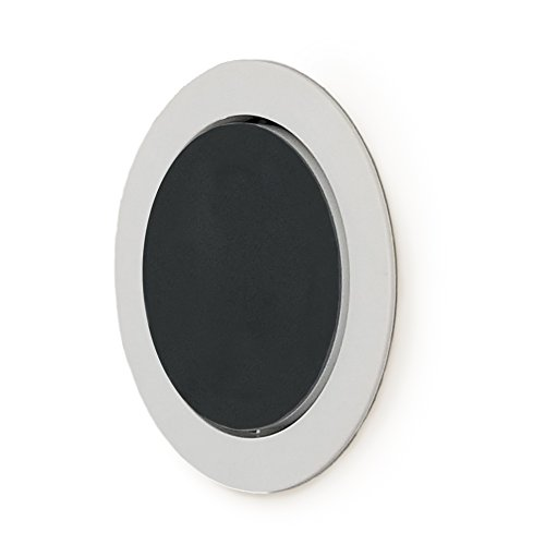 Price comparison product image The Flush Mount - Built-in Wall or Ceiling Mount for Round Puck Speakers - Includes Wiring - Does not muffle built-in speakers (5-pack)