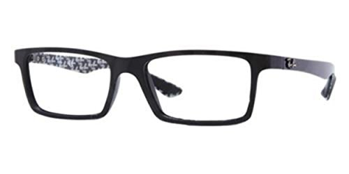 Ray Ban RX8901 Carbon Fiber Eyeglasses-5263 Demi Gloss - Carbon Frames Glasses Fiber
