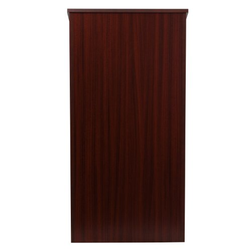 Flash Furniture Stand-Up Wood Lectern in Mahogany by Flash Furniture (Image #3)