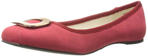 Dolce by Mojo Moxy Women's Kacey Flat, Red Red