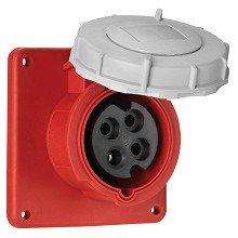 (Cooper Wiring Devices AH560R9W Recp Pin&Slv 60A 120/208V 3PH 4P5W WT)