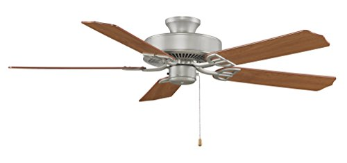 Fanimation BP200SN-220 Ceiling Fan, 0, Satin Nickel