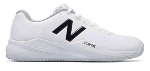 危険自信がある無限大(ニューバランス) New Balance 靴?シューズ レディーステニス 996v3 White with Black ホワイト ブラック US 7 (24cm)