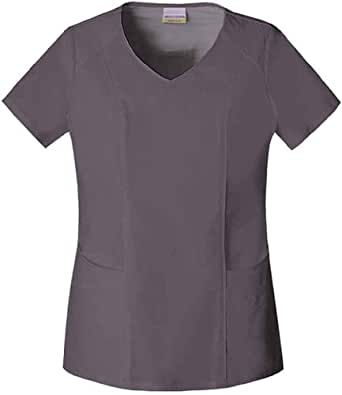 Skechers V-Neck Top 3X Dark Grey
