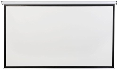 Displays2go, Motorized Projector Screen, Aluminum, Fiberglass, and PVC Construction – Black (PRSELE108) by Displays2go (Image #3)
