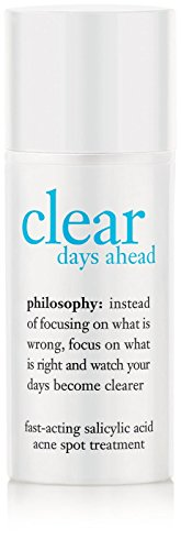 Philosophy Clear Days Ahead Fast-Acting Salicylic Acid Acne Spot Treatment, 0.5 Ounce by Philosophy