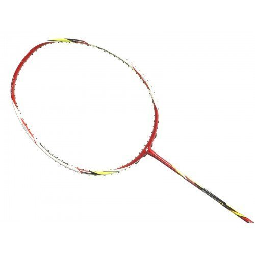 Yonex ArcSaber 11 Badminton Racket, Color Red/Clear