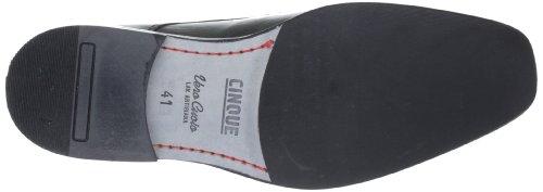 Cinque Shoes Venezia 9071-111, Scarpe basse classiche uomo Nero (Schwarz (Schwarz 100))