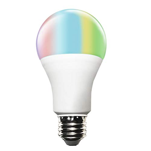 Smart A21 RGBW Tunable Warm White & Color LED Bulbs(10W), Cxy WiFi APP-Smartphone controlled LED Light Bulbs, Multicolor, Dimmable, Compatible with Alexa or Google Home , 100-Watt Equivalent.
