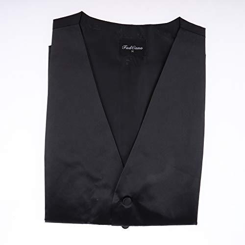 Mariage Ipotch Homme M Noir Élégant Manches Business xl Costume Taille Unie Sans Veste Gilet Couleur zrzEwqB