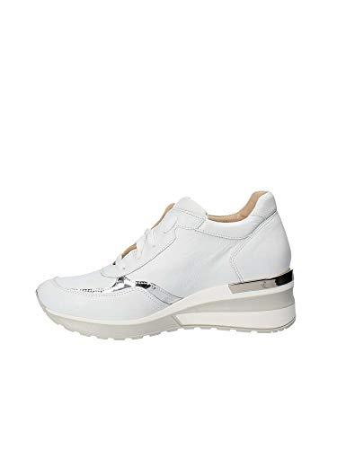 Exton Exton Blanc E06 E06 Femmes Sneakers RRCwfHzq