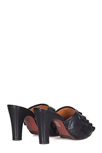 Chie Mihara Kvinder AbejaSort Sort Læder Sandaler i9cUs4f