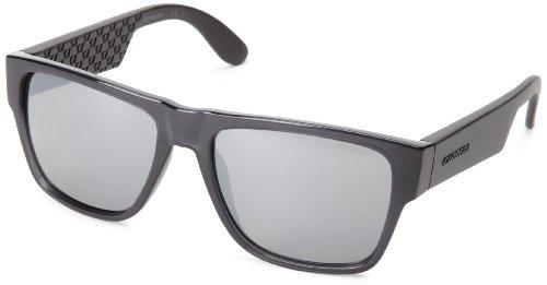 - Carrera Ca5002s Rectangle Sunglasses,Transparent Gray & Multi Zan,55 mm