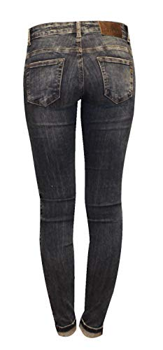 Unique Femme Zhrill Taille Jeans Blue W7220 nqwtwfY0U