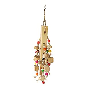 KSK Natural Hanging Wooden chew Toys (Medium)