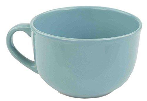 Home Basics Ceramic Dinnerware Set (22 oz Jumbo Mug, (Jumbo Coffee Mug)