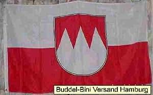 Bandera de 90 x 150 cm: Franken fränkische Franken bandera (bandera de fantasía)