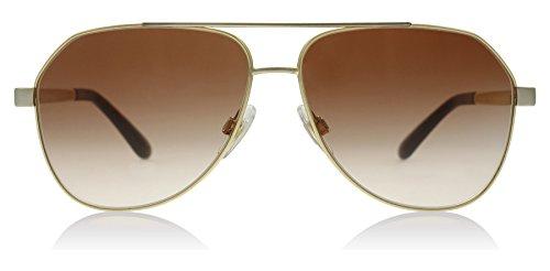 Dolce & Gabbana Women's Sicilian Taste Aviator Sunglasses, Gold, 59 - And Dolce Aviators Gold Gabbana