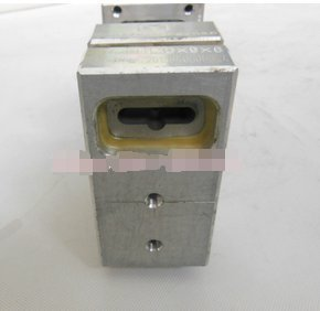 Butterfly hole plane hole pneumatic punching machine plastic hole punch device used on three sealing bag making machine by Huanyu Instrument