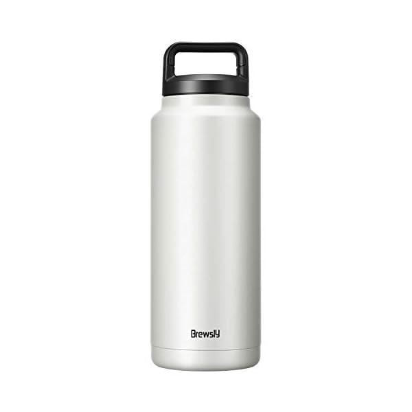 Brewsly Bottiglia Termica, Termos Caffe in Acciaio Inossidabile Isolamento Sottovuoto a Doppia Parete, Processo di… 2 spesavip