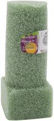 Styrofoam Floracraft Bulk Buy Styrofoam Vase Insert 8 inch x 3 inch 1 Pack Green MV8GU (6-Pack)