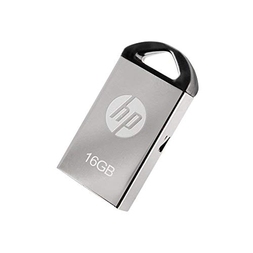 HP v221w Metal 16GB USB 2.0 Flash Drive - P-FD16GHP221-GE ()