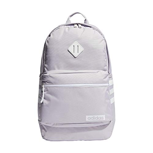 (adidas Classic 3s Backpack, Mauve/White, One Size )