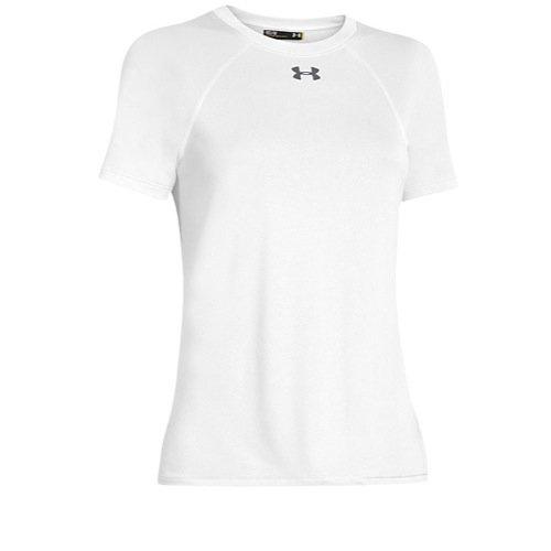 (Under Armour Womens UA Locker T-Shirt Small White)