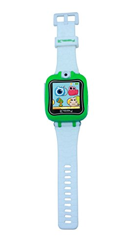 LINSAY NEW S-5WCLGREEN Smart Watch Kids with 90 Degree Se...