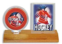 UP Real Wood Base Puck & Card Holder