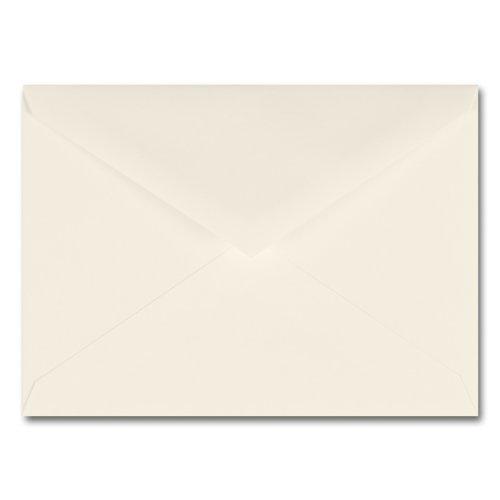 Fine Impressions Ecru Envelopes - No. 6 Baronial (4 3/4 x 6 1/2) 70 lb Text Vellum - 250 per Box