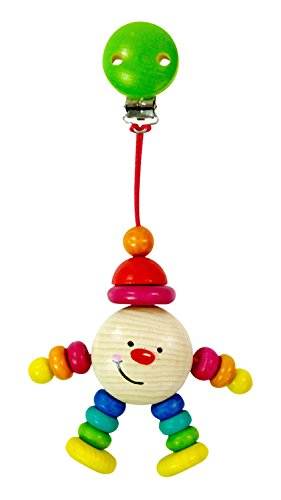 Hess Wooden Michel Clip Figure Baby Toy