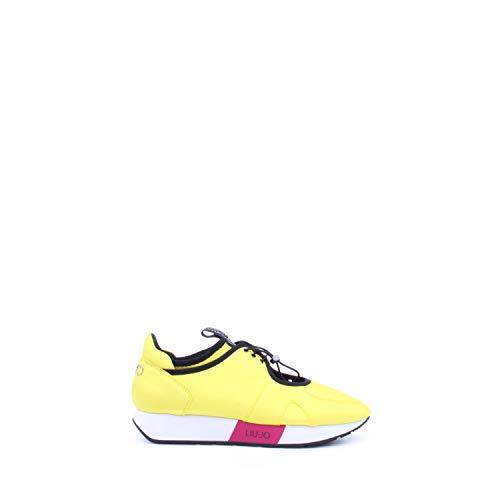 T6345 Sneaker Giallo Liu Limone Colore Tessuto S16159 Jo In Tq60w6Ap