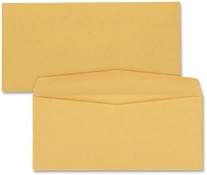"25 Quality Park #14 Envelopes Brown 5/"" X 11.5/"" Kraft 28lb 11562 Office Mailing"