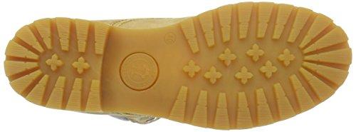 Wash Mujer B4 03 Amarillo De Panama Jack Botas amarillo Para Piel 6ES84w