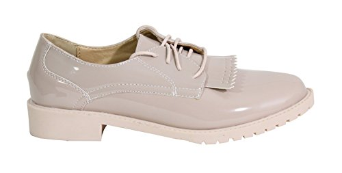 Style Derbies Femme By Chaussure Rose Plate Shoes xnqwtw4pg0