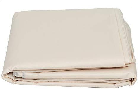家具ダストカバー 防水カバーダストカバーオックスフォード屋外ラタン表保護ガーデンテラスの家具サイドリリースバックル 幅広い用途 (色 : ベージュ, Size : 2.5x1.5x1m)