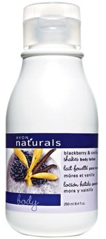 Avon Naturals Shake Body Lotion in Blackberry & Vanilla 8.4 fl. oz. Avon Naturals Blackberry