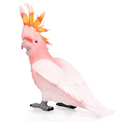 Kolobok - Safari Animals Action Figures - Cockatoo Bird - Zoo Animals Educational Toys