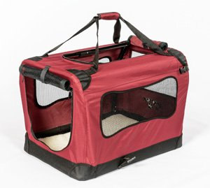 2PET Foldable Dog Crate - Soft, Easy to Fold & Carry Dog Crate for Indoor & Outdoor Use - Comfy Dog...