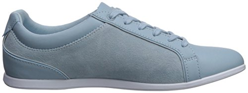 Lacoste Mujeres Rey Lace Sneaker Light Blue
