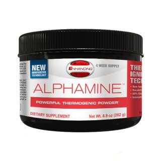 PEScience: Alphamine-Powerful Thermogenic Powder (Margarita), 8.9 ounces/84 scoops