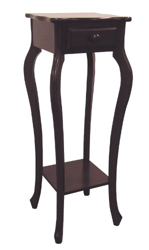 Cherry Phone Table - ORE International H-39 Plant Stand, Cherry